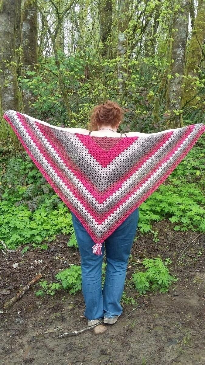beautiful shawl grabs! Caron Ca - crazylovecreations | ello
