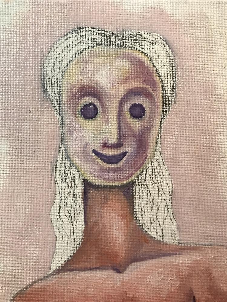 Sketchy painting - oilpaint, omens - subnormalchild | ello