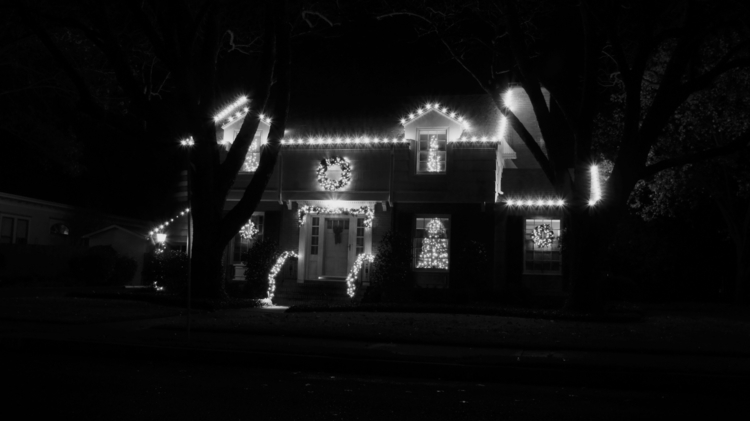 House Christmas - Photography, black_and_white - texaschris13 | ello