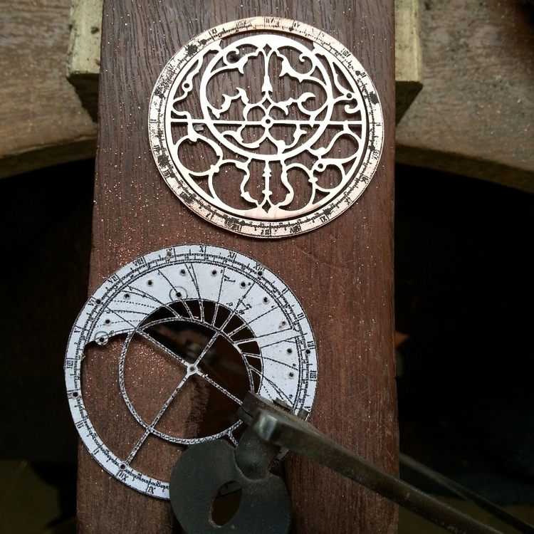 Astrolabe pendants progress - h - jeanburgersjewellery | ello