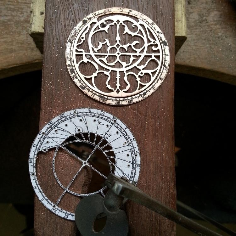 Astrolabe pendants progress - h - jeanburgersjewellery | ello