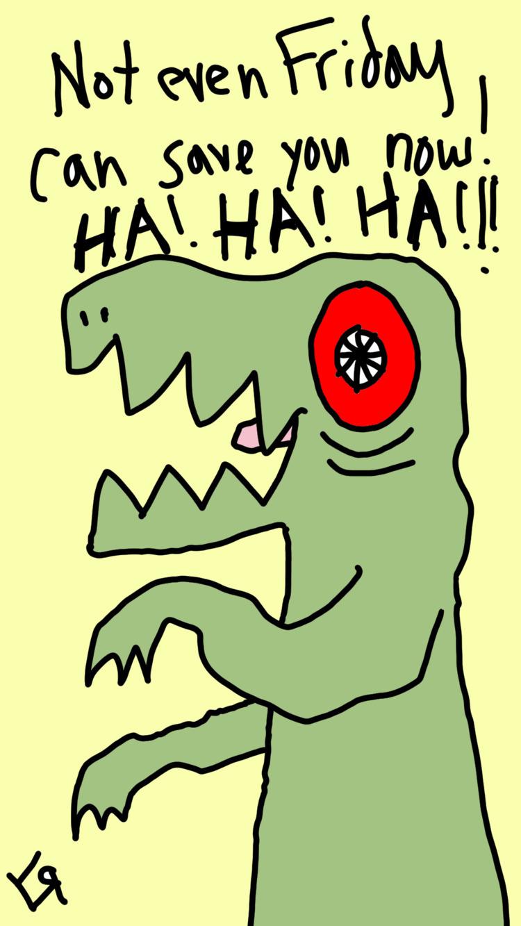 Evil Reptile Fiend Richard Yate - richardfyates | ello
