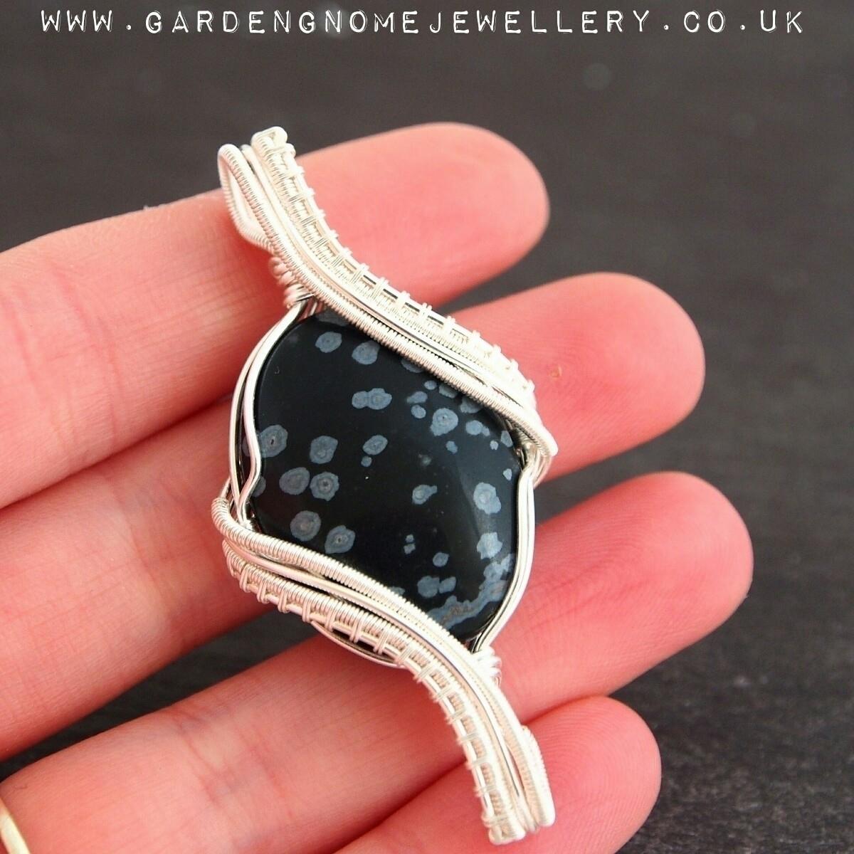 lovely piece shop, snowflake ob - gardengnomejewellery | ello