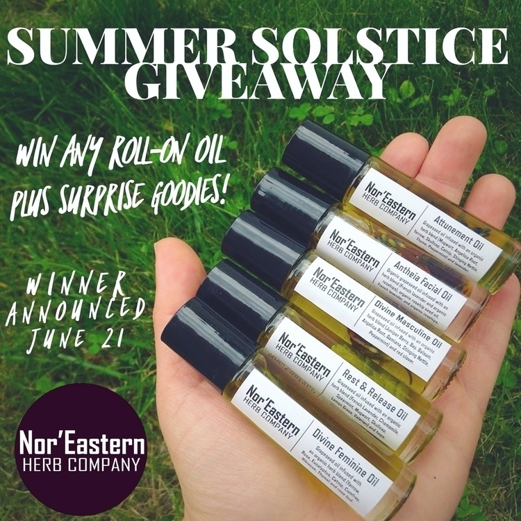 Hey friends, Summer Solstice gi - noreasternherb | ello