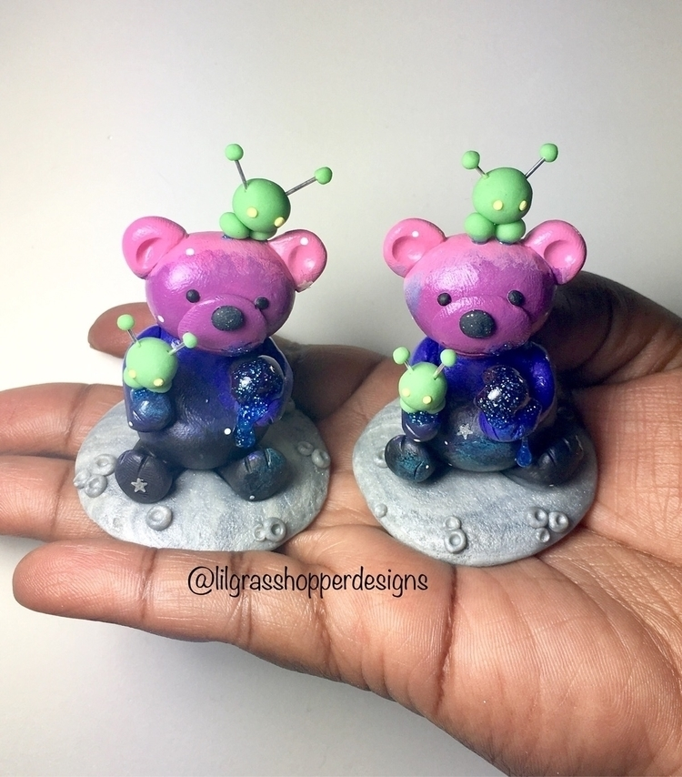 Working Galaxy Bears style Hone - lilgrasshopperdesigns | ello
