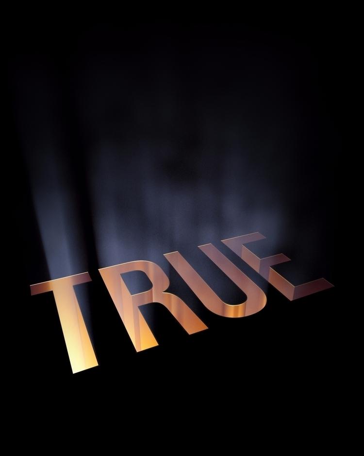 TRUE - 3D, C4D, Motiondesign, Design - deangiffin | ello