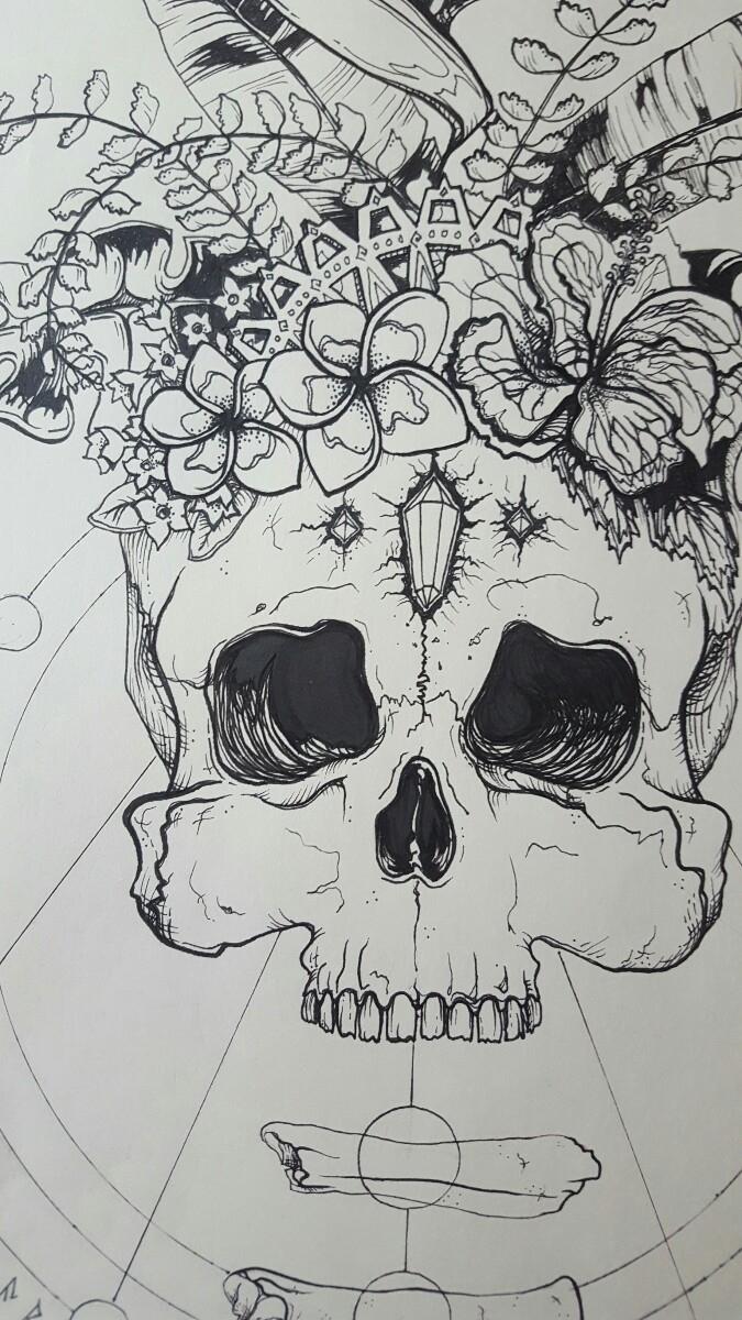 Atlantis Crystal Skull, detail - deeni | ello