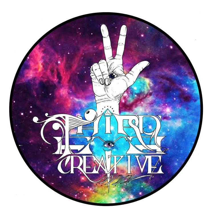 Eye Creative colour logo white  - thirdeyecreative | ello