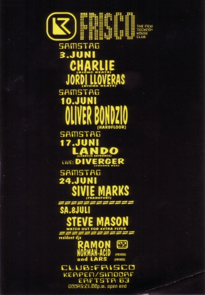 **today 22 years (1995 - flyer, history - bondziolino | ello