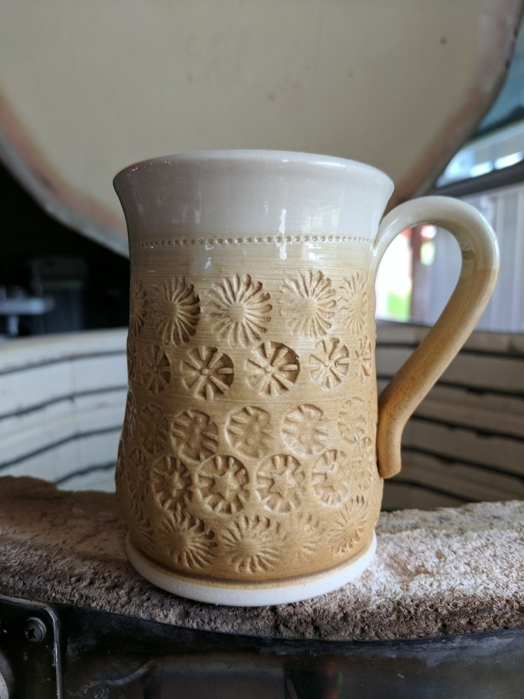 Summer Ugly Sweater Mug! stamps - hillippieclayco | ello