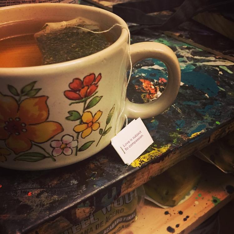 Tea Time - love, compassion - tinylionsdesigns | ello