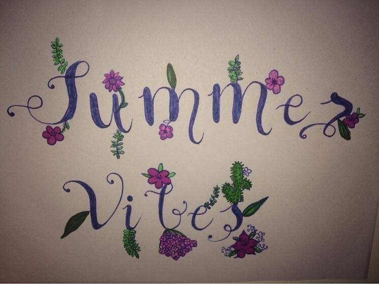 Summer :sunny:️ - pen-to-paper | ello
