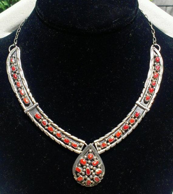 Gorgeous Vintage Navajo Taxco C - jewelsbyvittoria | ello
