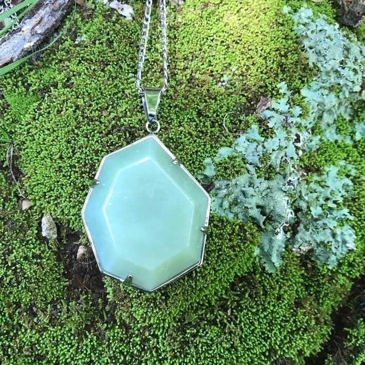 hours home Veda Necklace Jade,  - evil_pawn_jewelry | ello