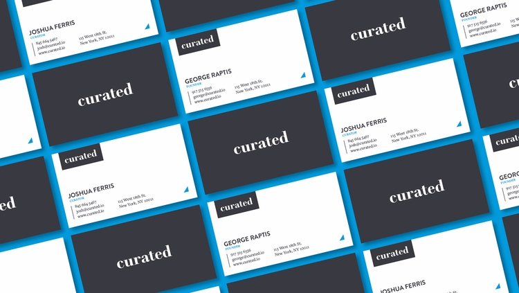 Curated Business Card - markjw | ello