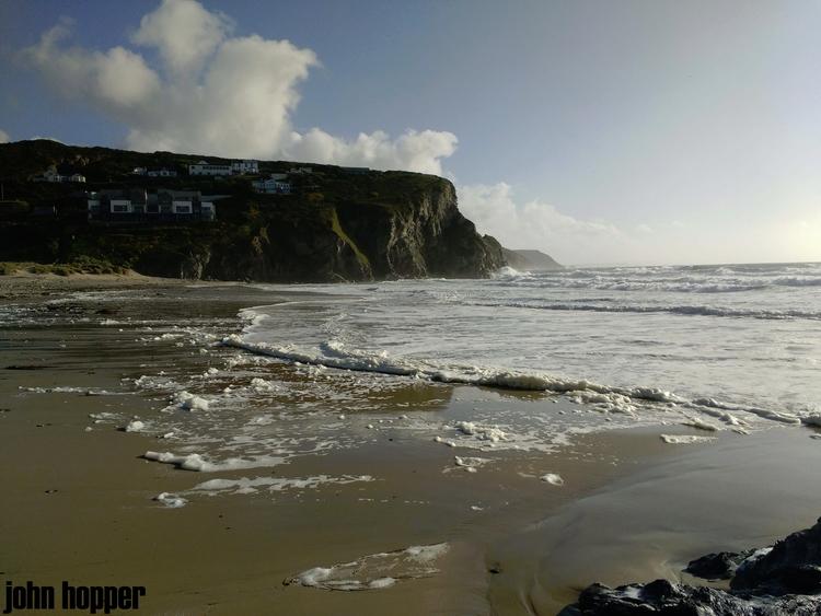 BEACH EVENING - porthtowan, beach - johnhopper | ello