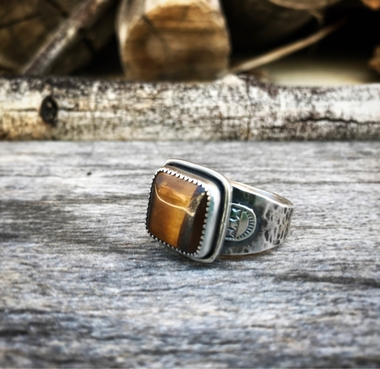 forgot guy ring nice tiger eye - sierrasagedesigns | ello