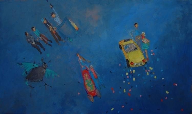 BROKEN DREAMS painting Ana Andr - anaandroska | ello