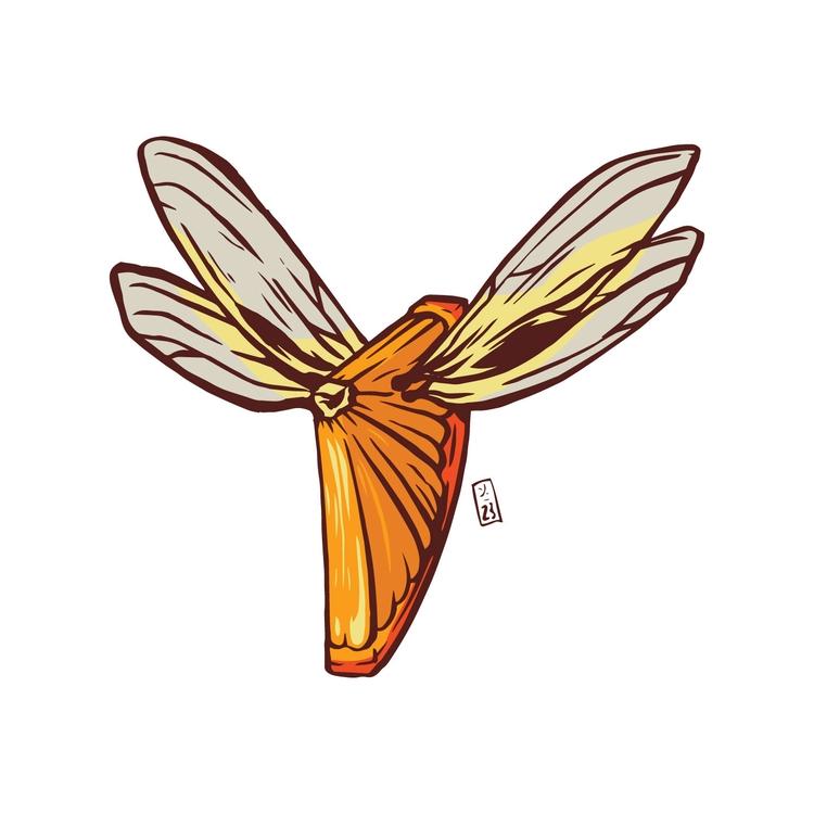 Fruit Fly - illustration - thomcat23 | ello