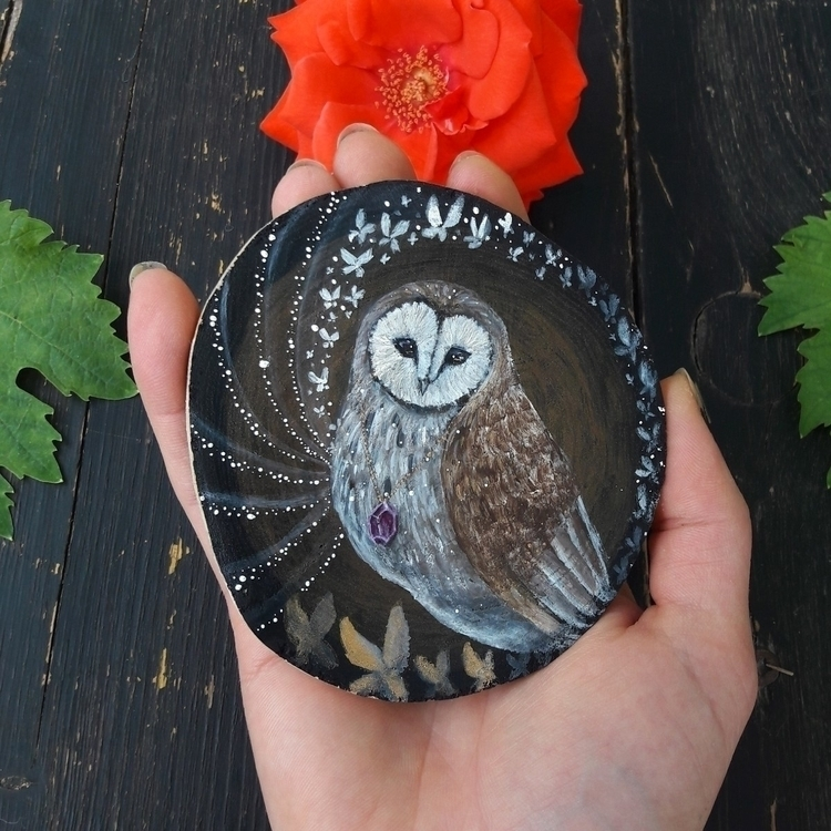 shop:sparkles: Magic barn owl - magicowl - magicwood_creations | ello