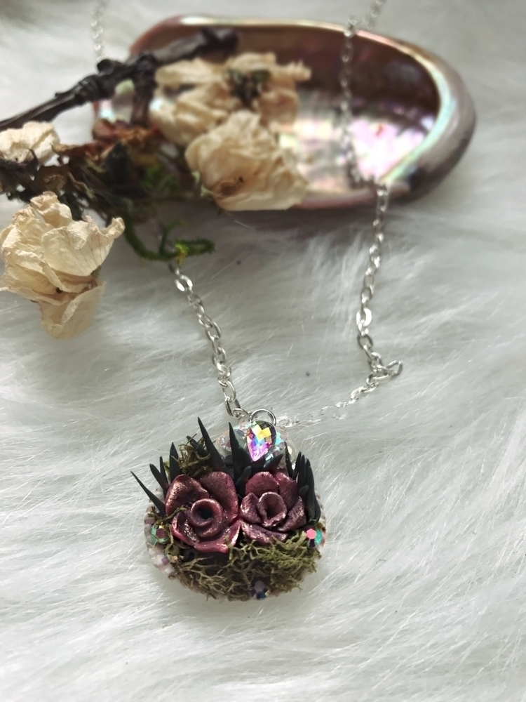 Faerie Garden Necklaces listed - ballroomleaf | ello