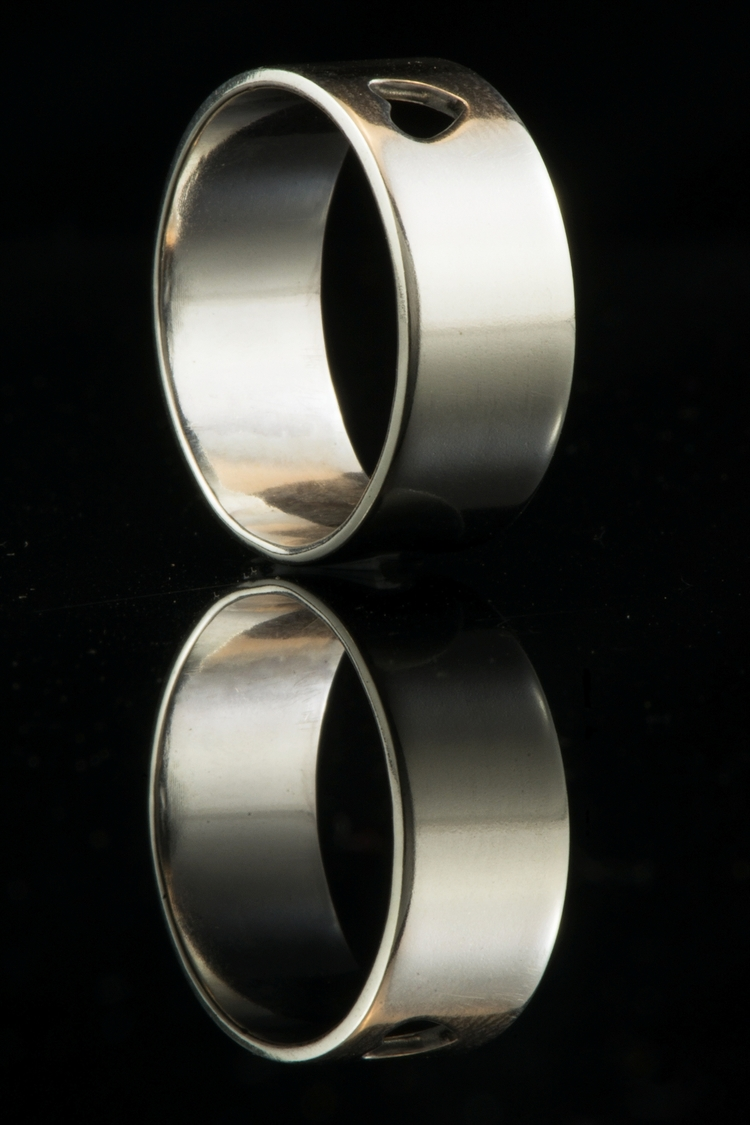 Reflections cool - silverring, handmadejewellery - silverobsessions | ello