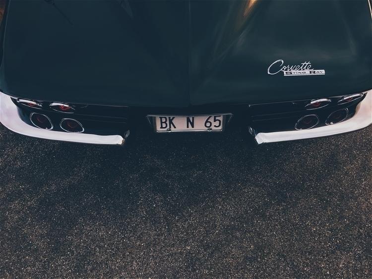 corvette, stingray, chevy, chrome - tramod   ello