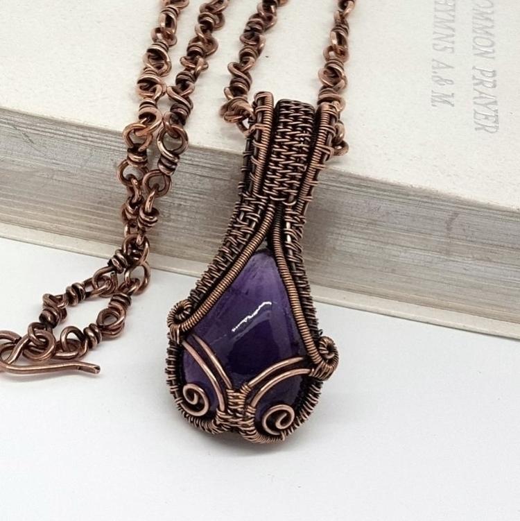 amethyst copper gothic style - jakdawgems | ello