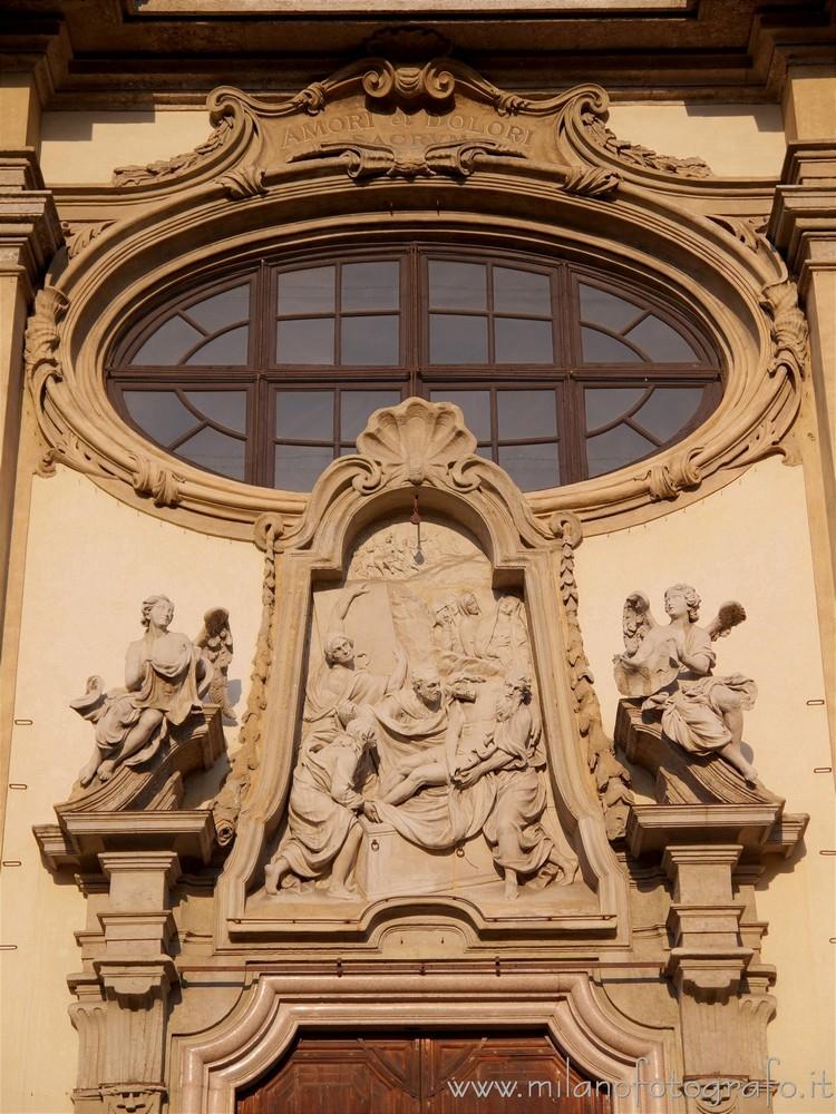 Milan (Italy): Decorations entr - milanofotografo | ello