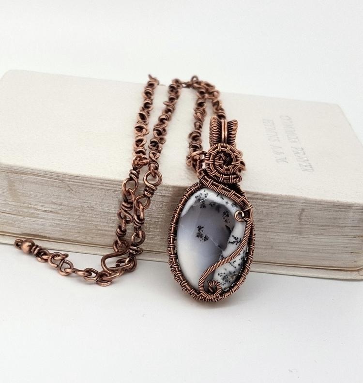 Love dendrite opal handmade cop - jakdawgems | ello