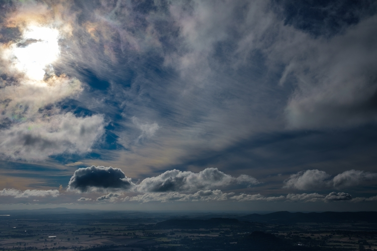 Fly Higher - sky, clouds, sun, landscape - realstephenwhite | ello