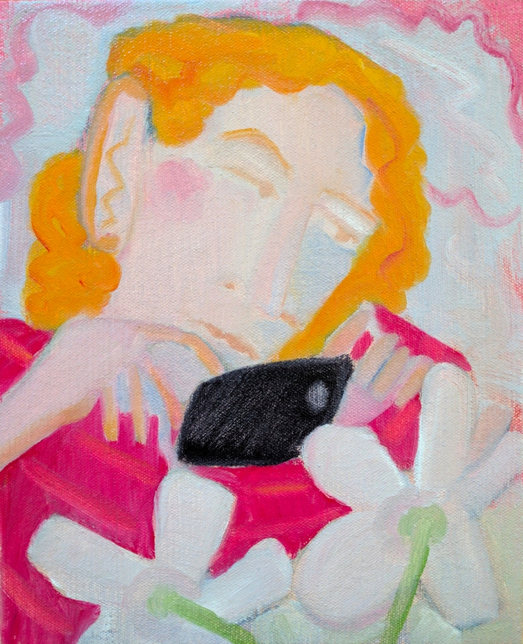 Taker Oil/canvas, 11x9 - art, painting - markbarry   ello