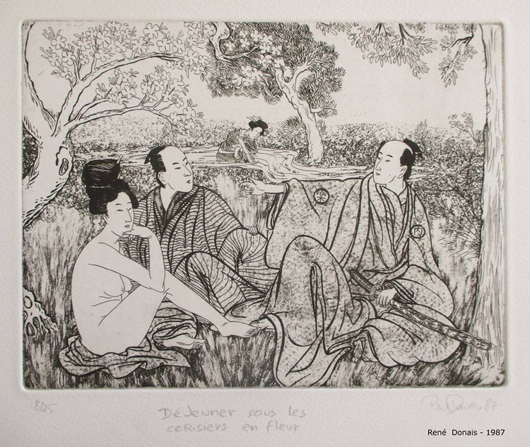 engravings european / japanese  - renedo | ello