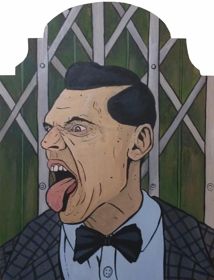 Rude Boy acrylic mdf board - diogorustoff | ello