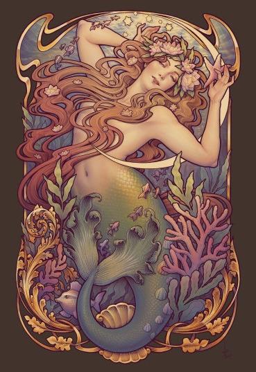 'Den Lille Havfrue (aka Mermaid - geekynerfherder | ello