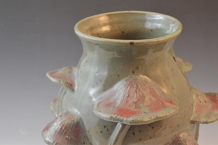 stoneware case mushroom detail - leahkoslow | ello