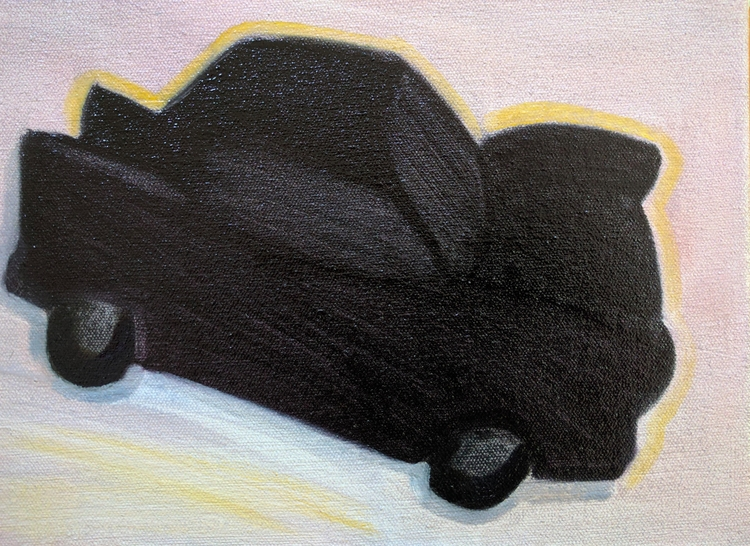 car, roadtrip, art, painting - markbarry | ello