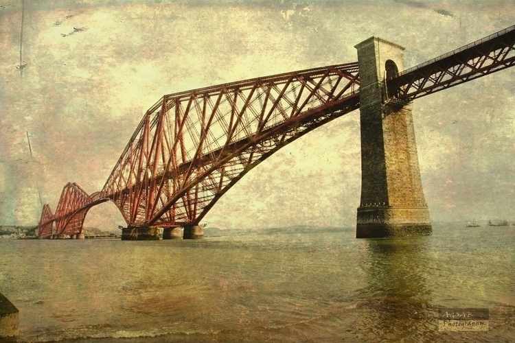 Firth Bridge series. artwork st - ageekonabike   ello