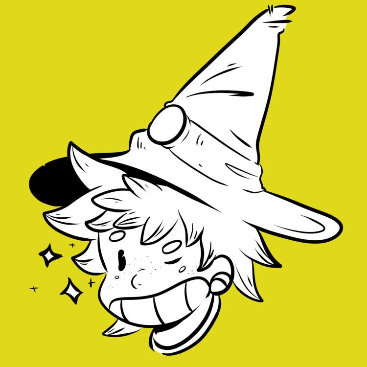 Chubby - Witch - gabrielgodoydemarchi | ello