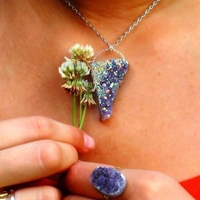 Etsy shop - angelaura, amethyst - lavender_goddess | ello