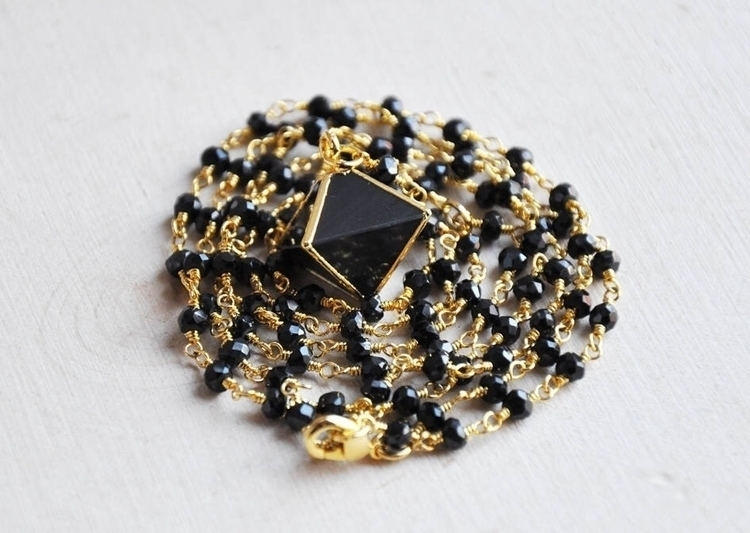 black, onyx, crystal, pyramid - fawinginlove | ello