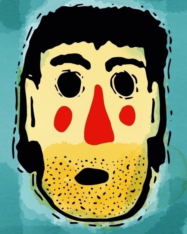 doodle - selfie, illustration, doodledaypdx - dsmoore | ello