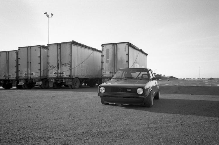 MK1 GTI Ilford Delta 400 Ricoh  - biosfear | ello