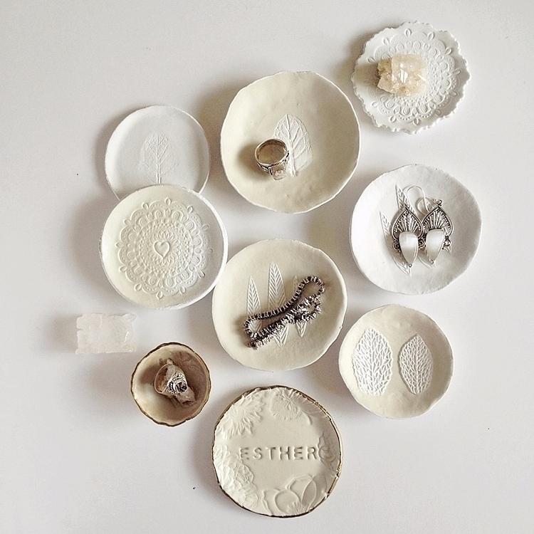 Rings - clay, pottery, ringdish - azandairalee | ello