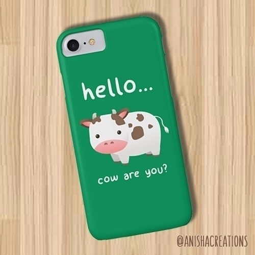 RING -RING! Good Moooorning - cute - anishacreations | ello