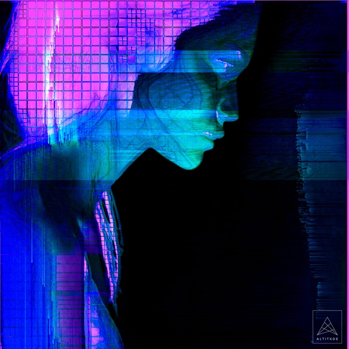 KLÔ - illustration, glitch, portrait - altitxde | ello