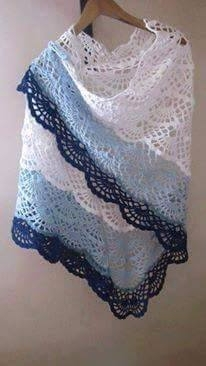 beautiful crochet scarf delight - brunacrochet | ello