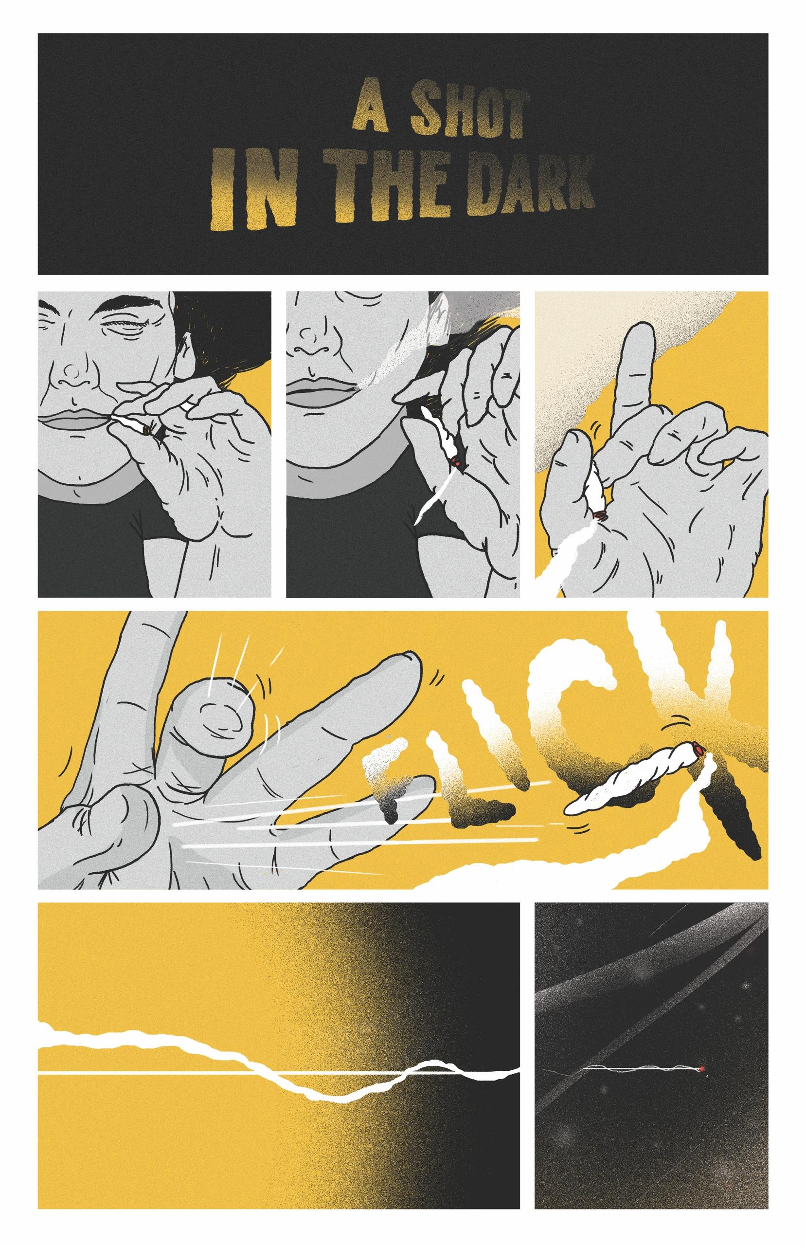 panel comic - elloillustration, comics - sharkdad | ello