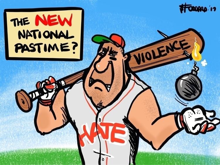 National Pastime - illustration, - sstoddard | ello