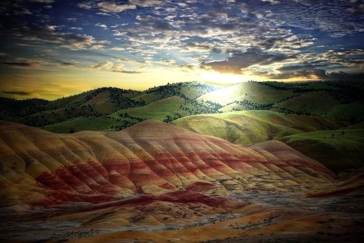trip Painted Hills, Oregon. cam - toddamcintyre | ello